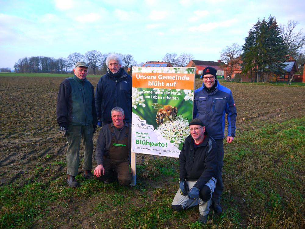 Aktive Mitglieder: von links: Gerhard Brockmann, Georg Wilhelm, Henning Harms, Wolfgang Schmidtke, Torsten Schulz - (Copyright: © Regine Henry)